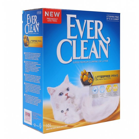 Ever Clean Litterfree Paws Kattsand (10 l)