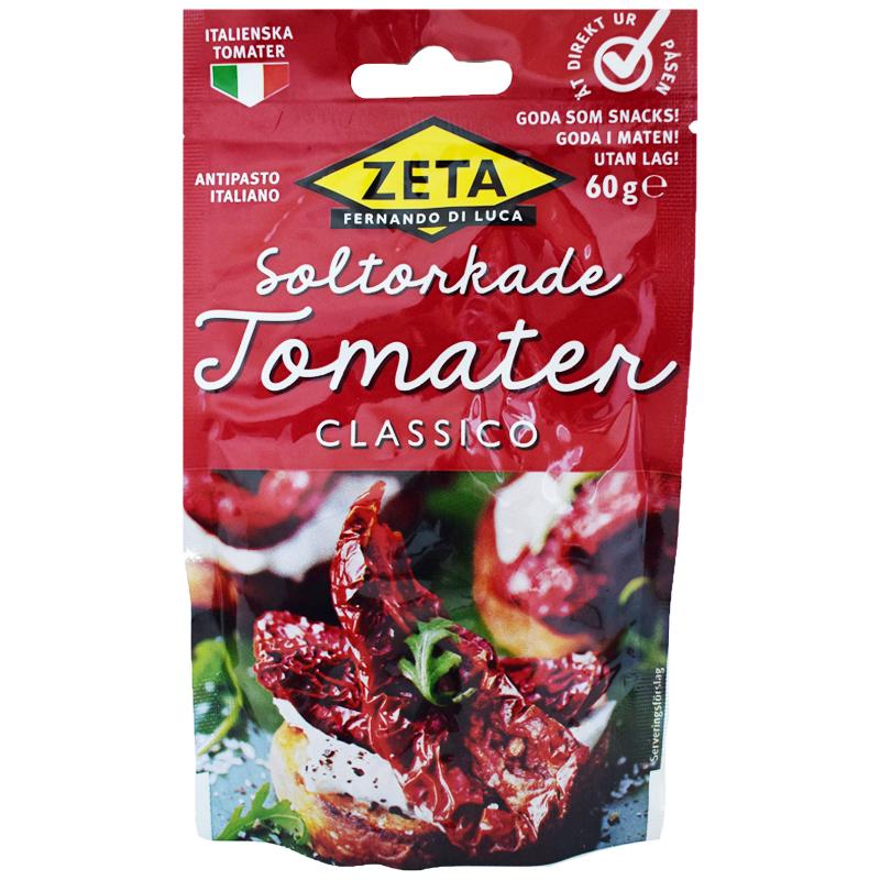 "Soltorkade Tomater ""Classico"" 60g - 40% rabatt"