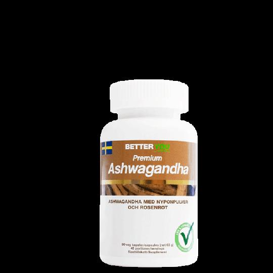 Premium Ashwagandha, 90 kaps