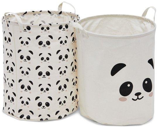 Alice & Fox Oppbevaringskurv, Panda