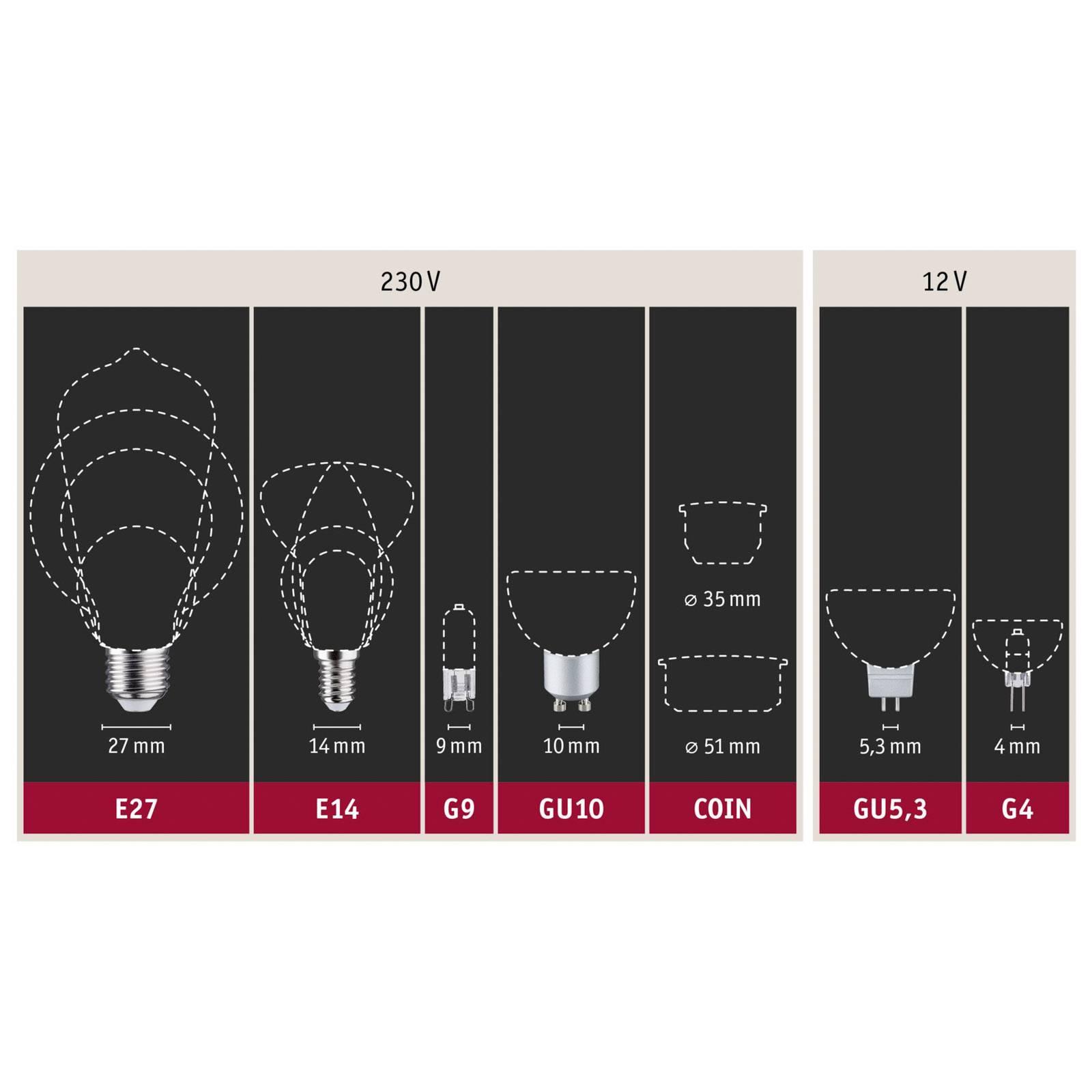 Paulmann-LED-jääkaappivalo E14 1W 830