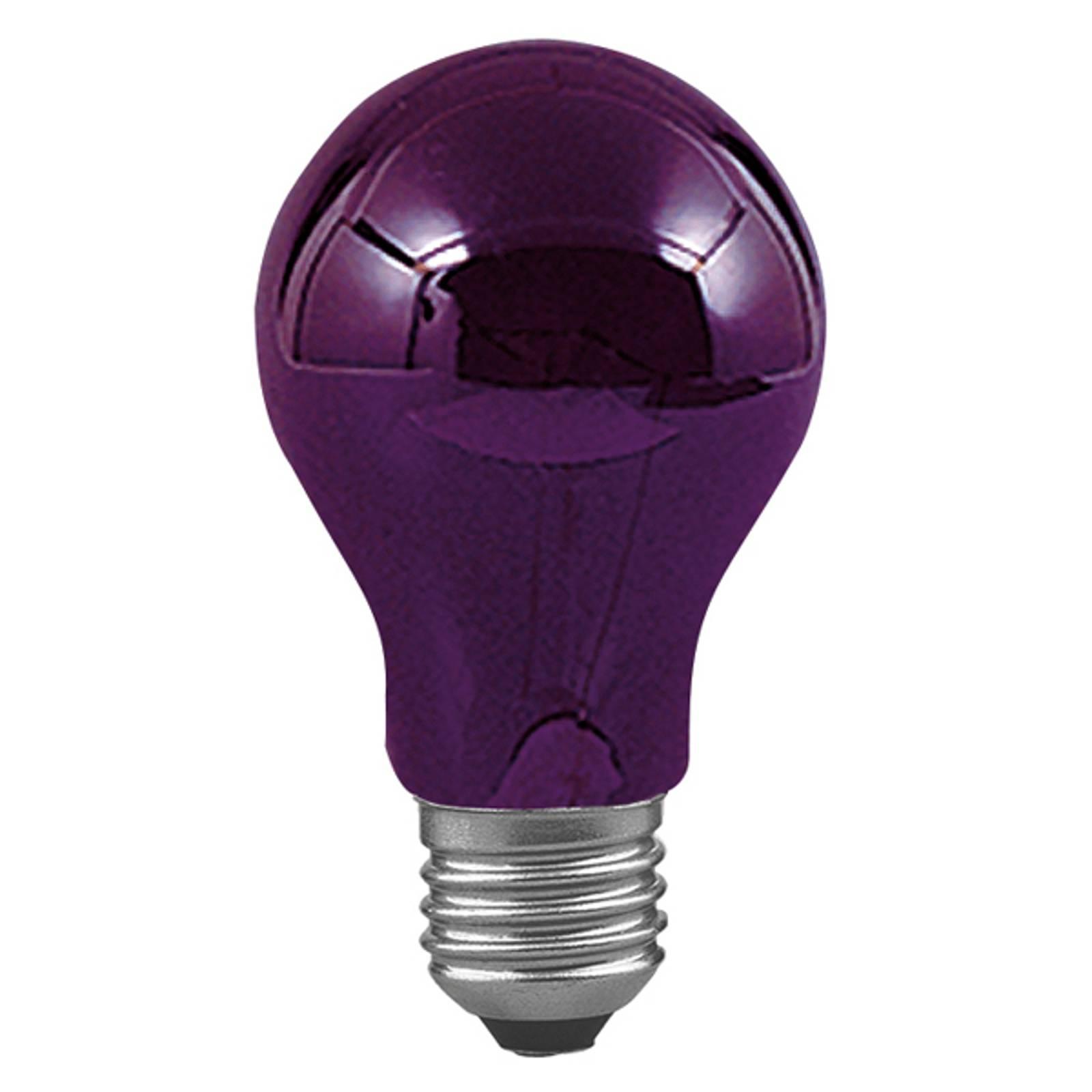 E27 75W mustavalolamppu, himmennettävä
