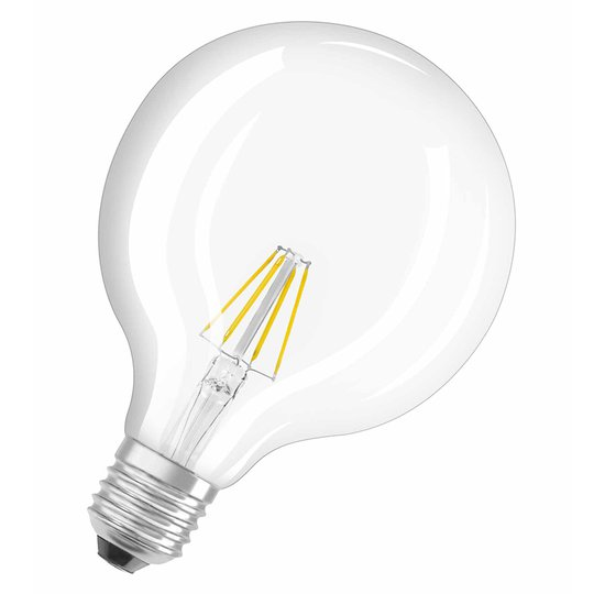 E27 4W 827 LED-pallolamppu, retromalli