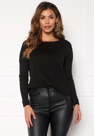 ONLY Brenda L/S Pullover Black XS