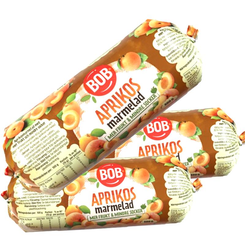Aprikosmarmelad 3-pack - 47% rabatt