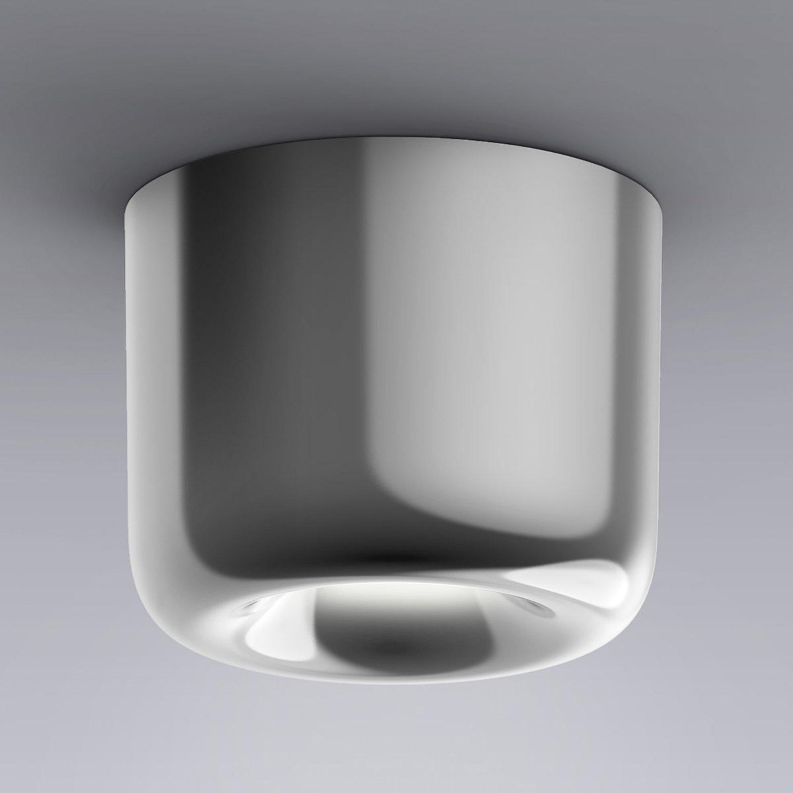 serien.lighting Cavity Ceiling S, blank aluminium