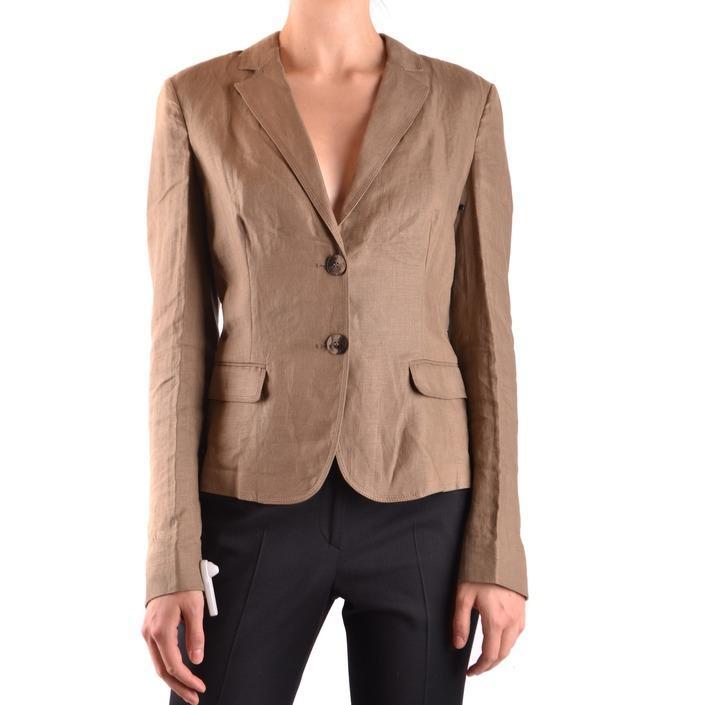 Daniele Alessandrini Women's Blazer Brown 162455 - brown 42