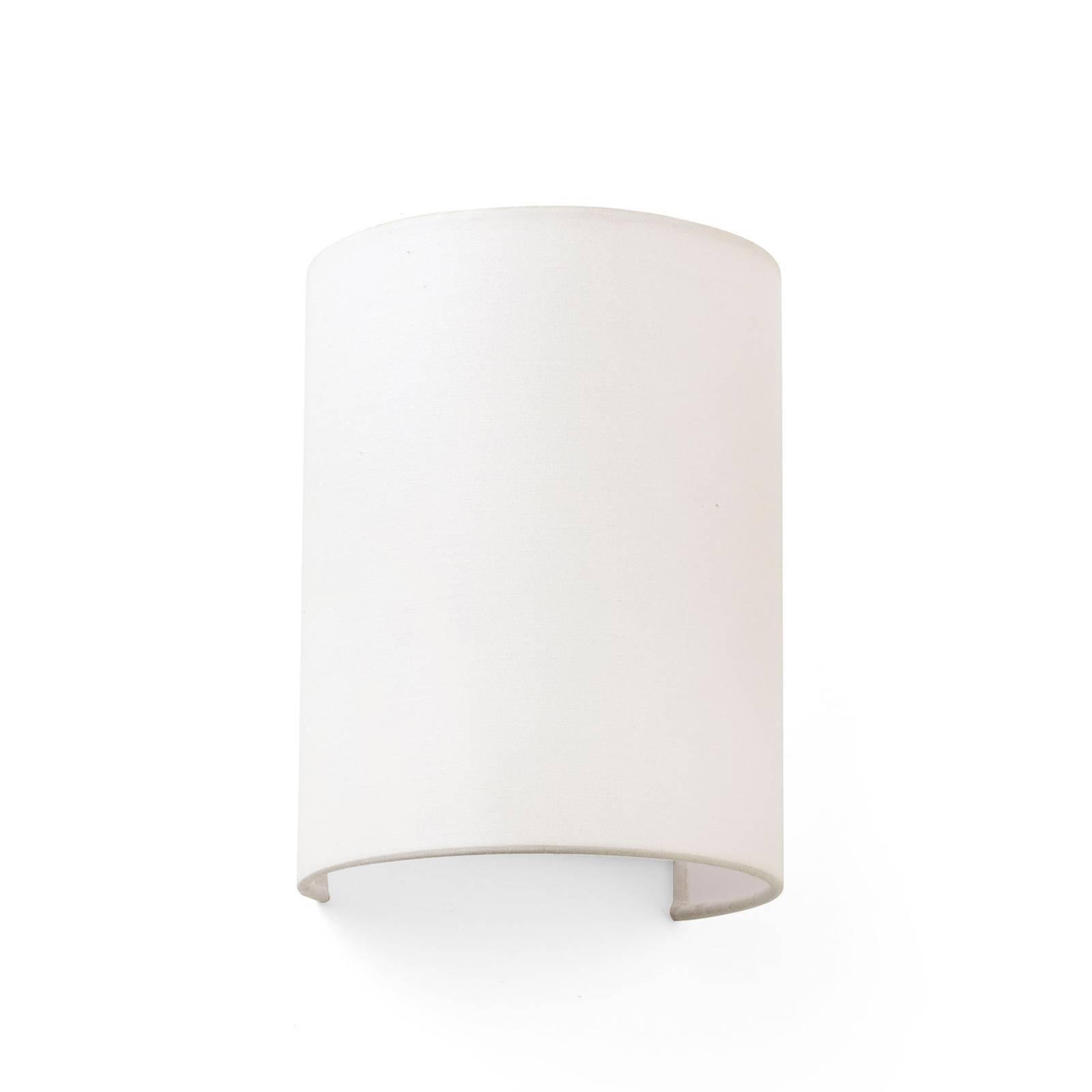 Vegglampe Cotton, buet, 20 x 15 cm, beige