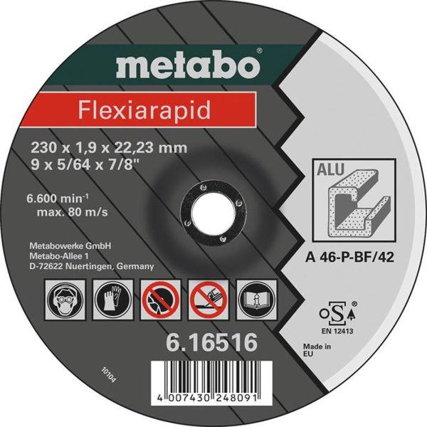 Metabo Flexiarapid Katkaisulaikka alumiinille