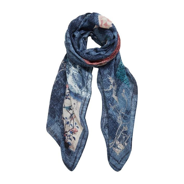 Desigual Women's Scarf Blue 305245 - blue UNICA
