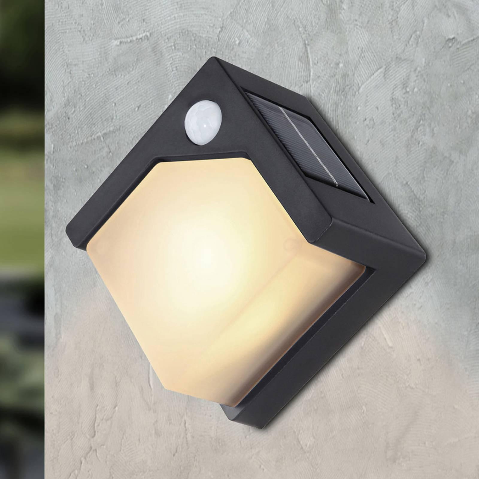 LED-aurinkoseinälamppu 36480 liiketunnistimella