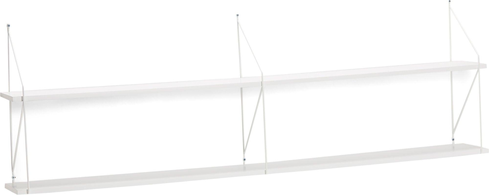 Alice & Fox Seinähylly 160cm, Valkoinen