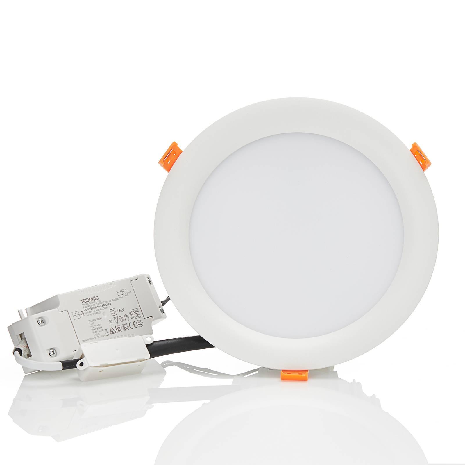 Arcchio Xavian -LED-uppovalo 4 000 K 19 cm