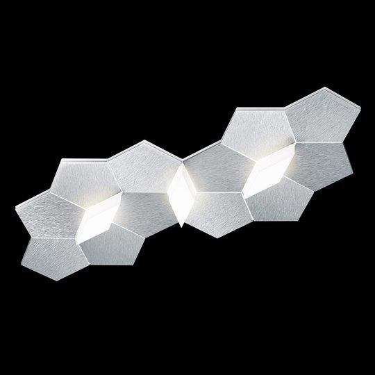GROSSMANN Linde LED-seinälamppu, 3-lamppuinen