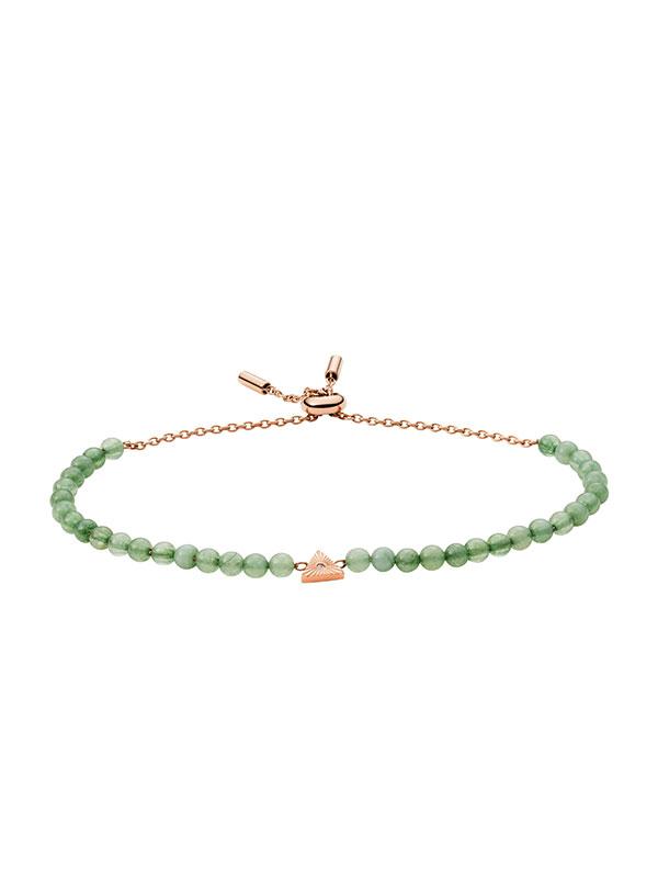 FOSSIL Armband Georgia - Grön JF03793791
