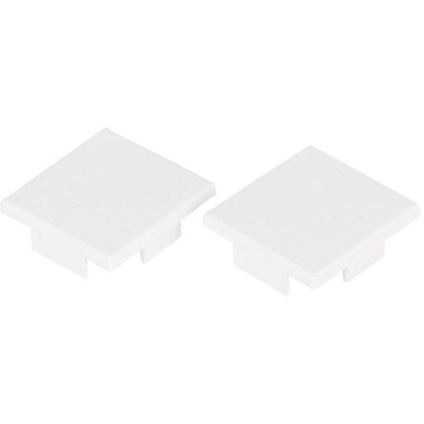 Hide-a-Lite Art High Endestykke hvit, 2-pakk