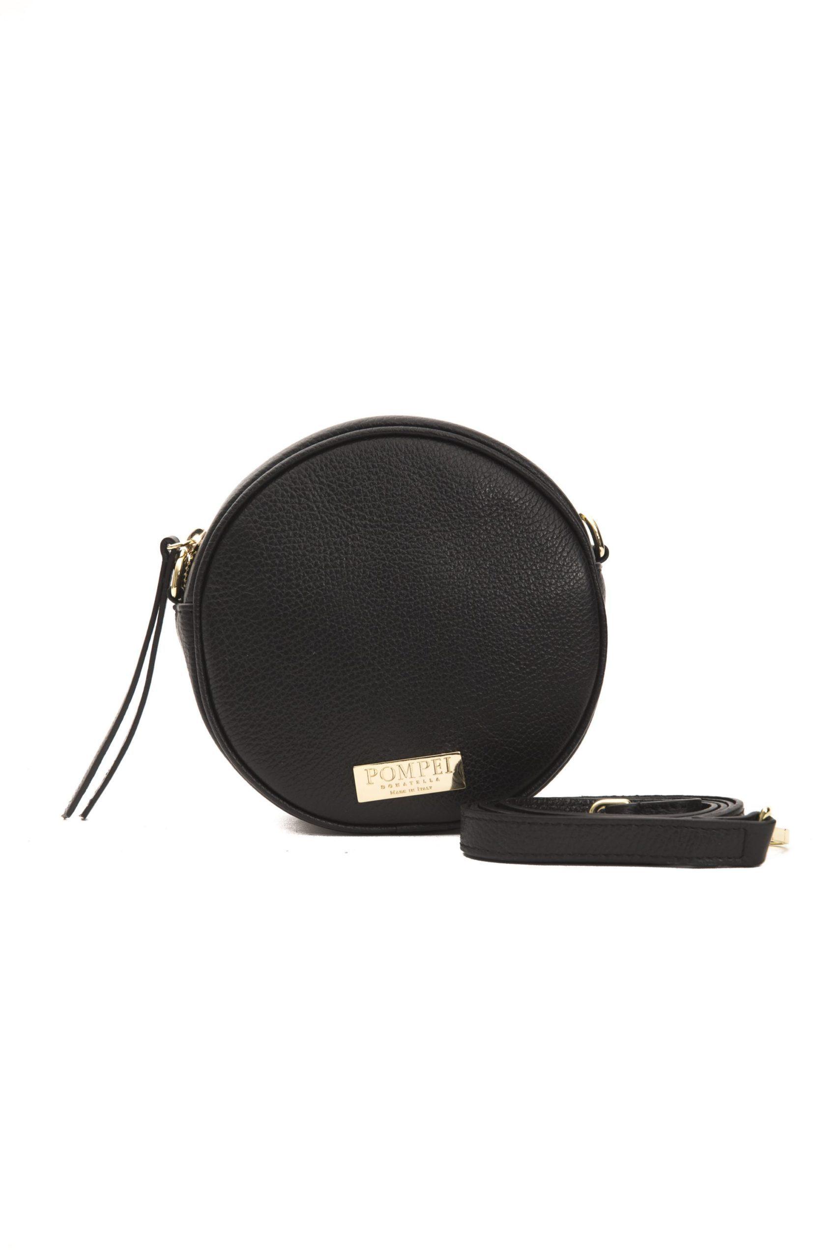 Pompei Donatella Women's Nero Crossbody Bag Black PO1004949