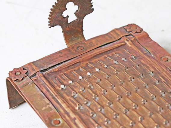 Vintage Brass Grater - Small Small