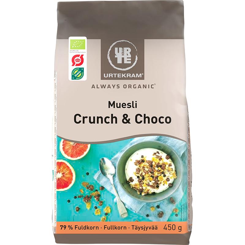 "Eko Müsli ""Crunch & Choco"" 450g - 26% rabatt"