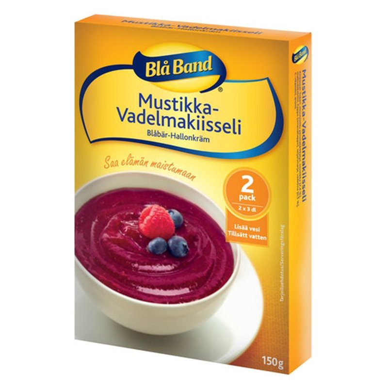 Mustikka- & Vadelmakiisseli 2 x 3 dl - 35% alennus