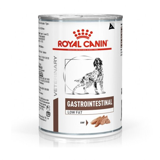 Royal Canin Veterinary Diets Dog Gastrointestinal Low Fat Loaf 12x410 g