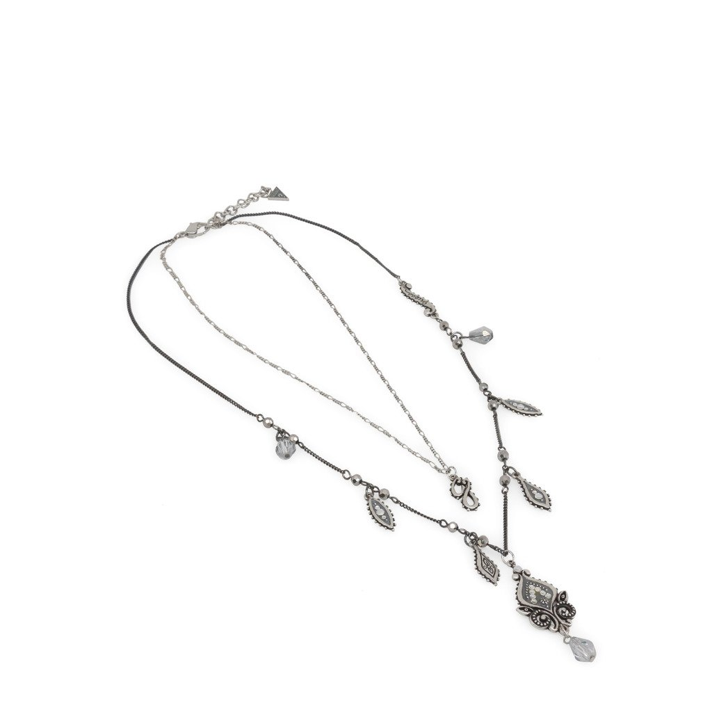 Guess Women's Necklace Grey UFN10821 - grey NOSIZE