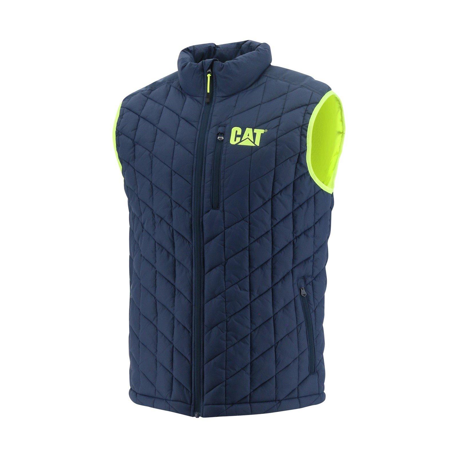 Caterpillar Unisex Insulated Jacket Various Colours 33824 - Detroit Blue Sml