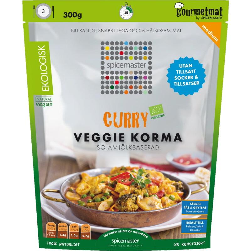 Eko Curry Veggie Korma Bas - 25% rabatt
