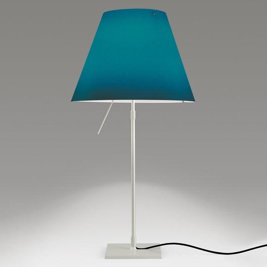 Koristeellinen LED-pöytälamppu Costanza, sininen
