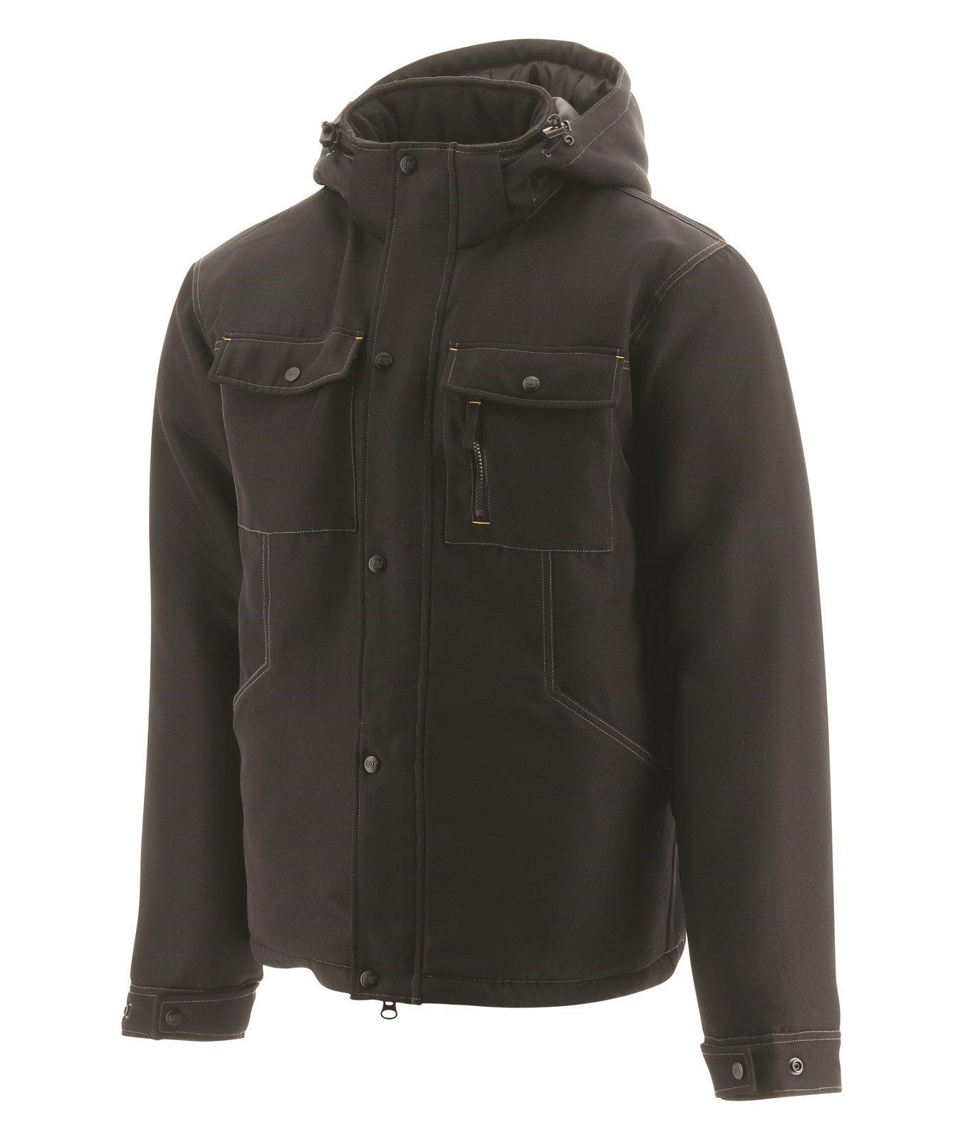 Caterpillar Unisex Stealth Insulated Workwear Jacket Black 31677 - Black Sml