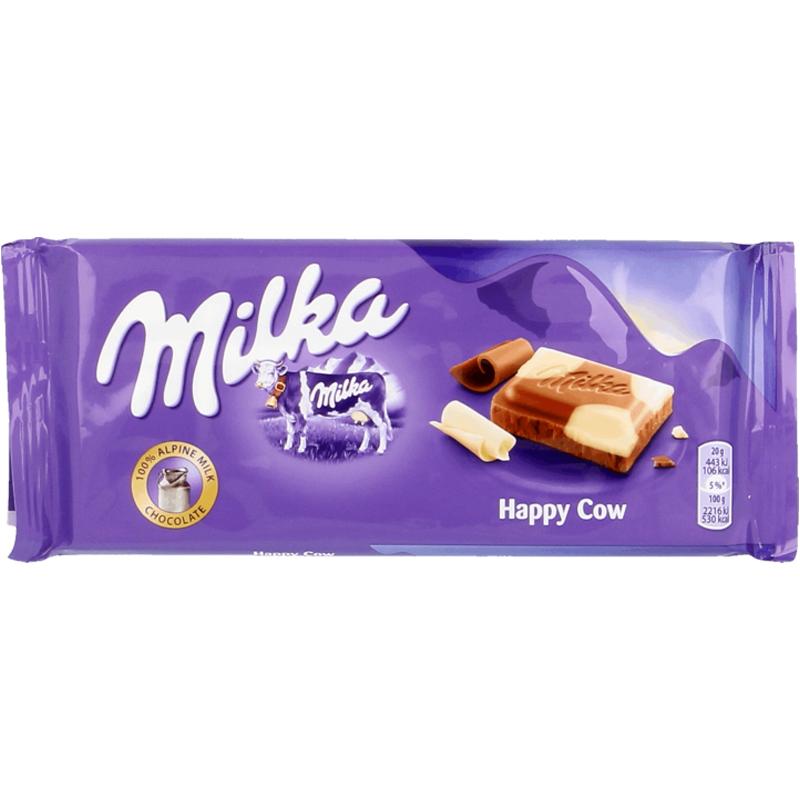 Mjölkchokladkaka Vit Choklad 100g - 23% rabatt