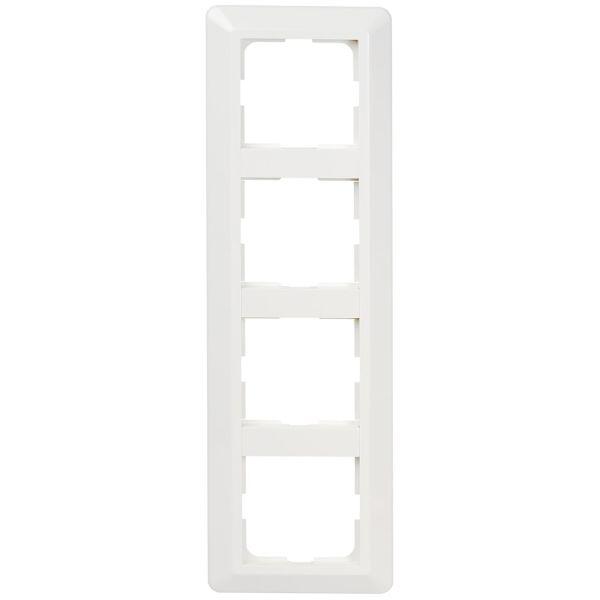 Elko EKO07247 Yhdistelmäkehys valkoinen, termoplastia 297 mm, 4 lokeroa