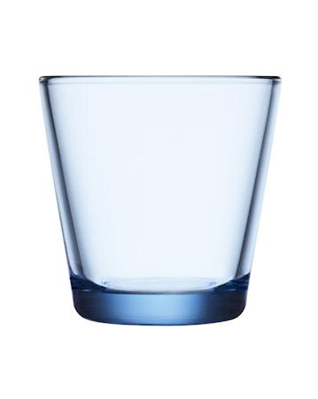 Kartio glas 21 cl aqua 2 st