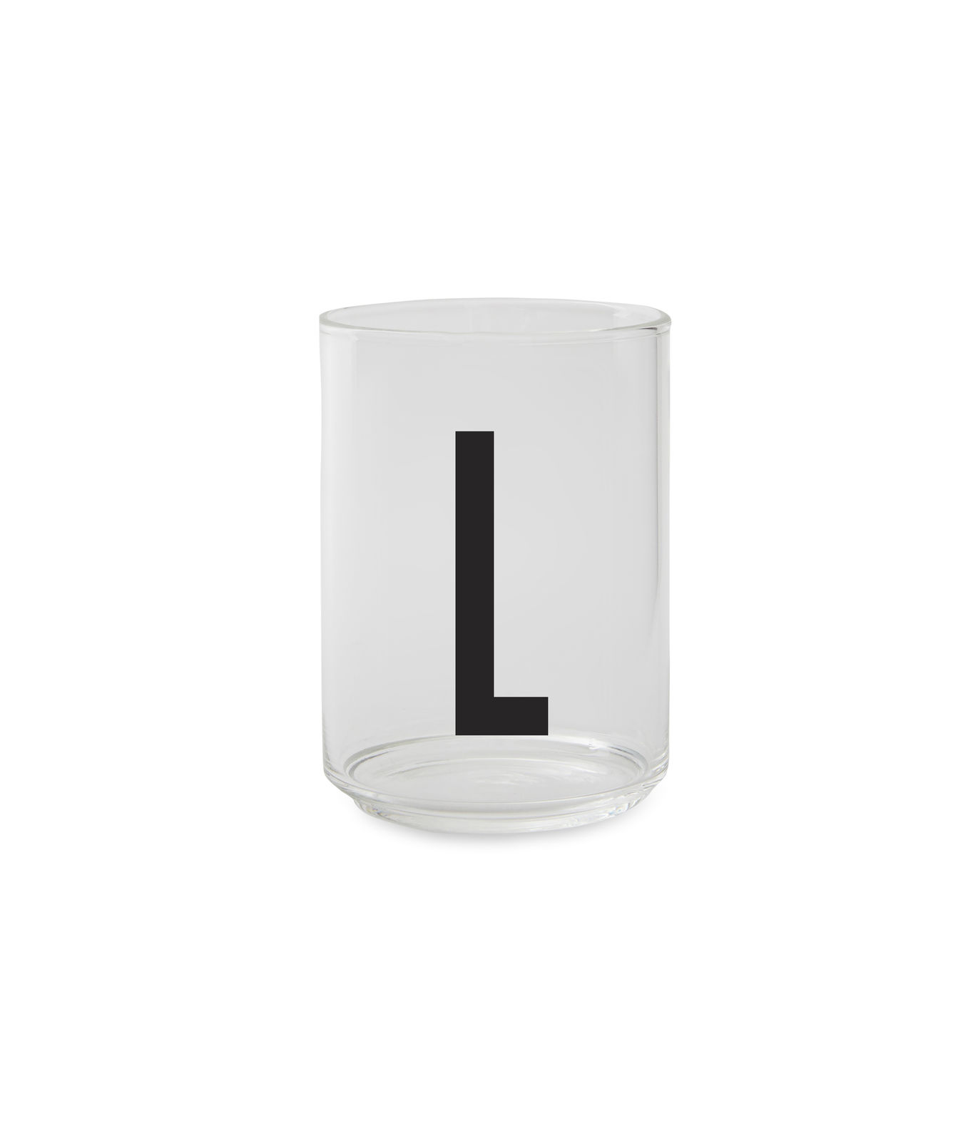 Design Letters - Personal Drinking Glass L