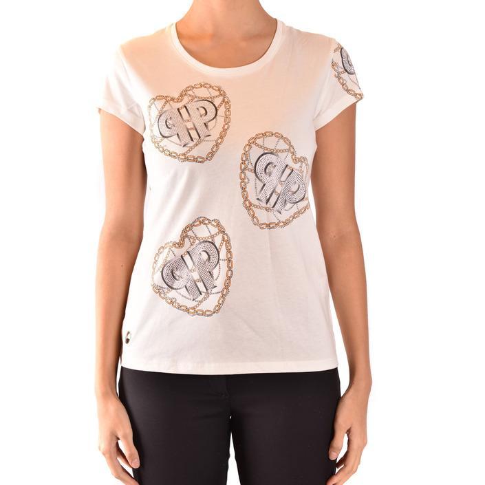 Philipp Plein Women's T-Shirt White 185041 - white L