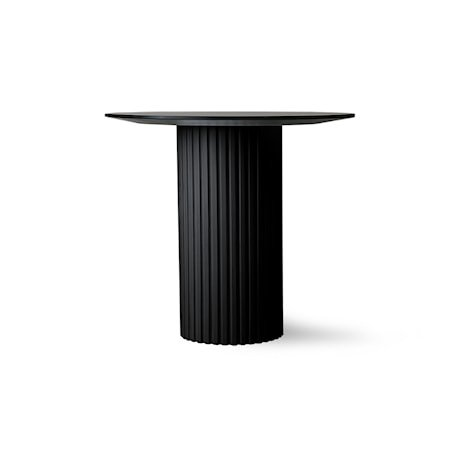 Pillar Sidebord Rund Black