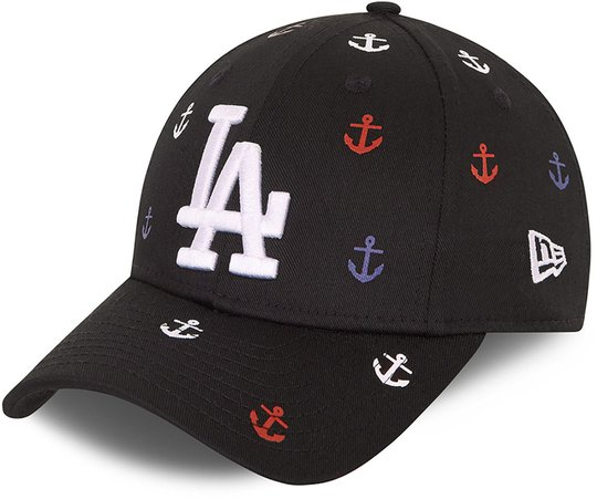 New Era All Over Graphic 9Forty Caps, Black, 4-6 Jahre