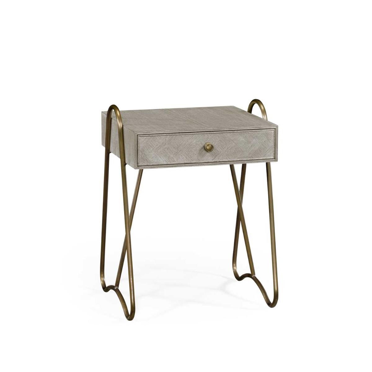 William Yeoward | Gennesso Night Table Greyed Oak