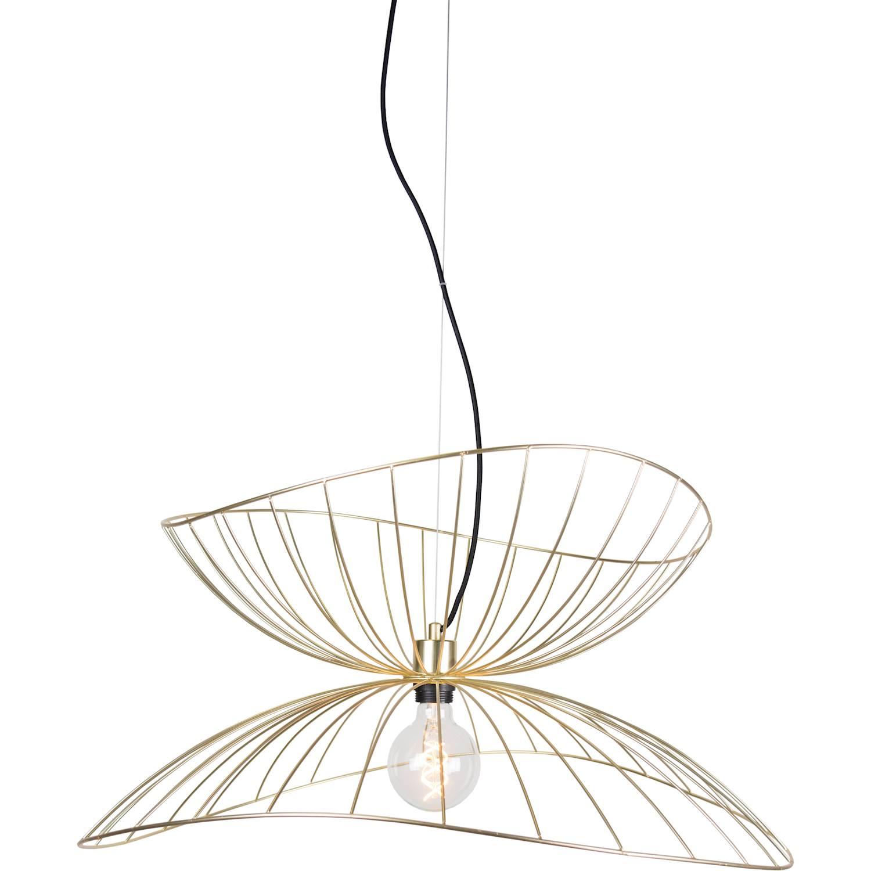 Globen Lighting Pendel Ray Borstad mässing