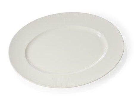 Fat Oval 33 cm Colormix hvit