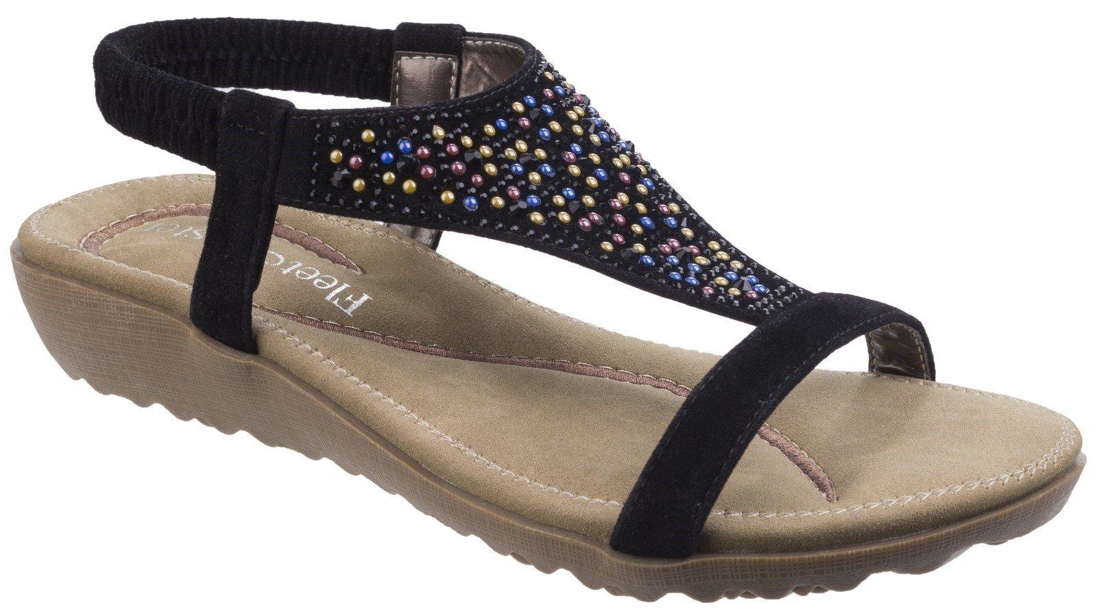 Fleet & Foster Women's Nicosia Slingback Sandal Various Colours 23732 - Black 3