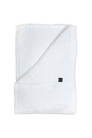 Dani BEDSPREAD white 260 x 260 – GOTS