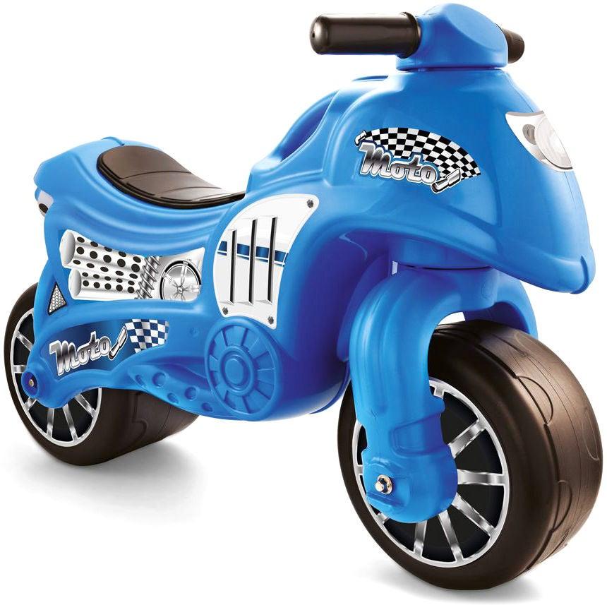DOLU Gåmotorcykel, Blå