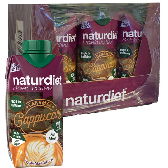 Måltidsersättning Protein Kaffe & Karamell 12-pack - 35% rabatt