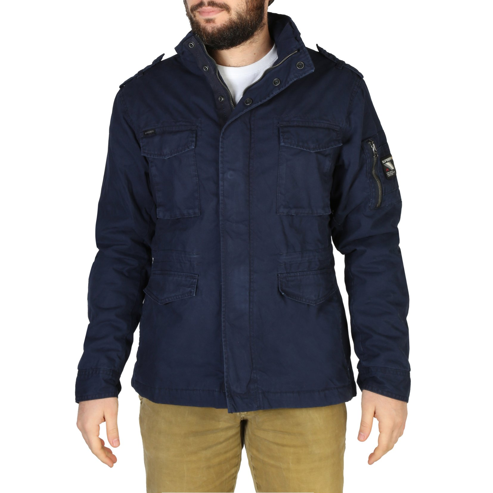 Superdry Men's Jacket Various Colours M5010351A - blue L