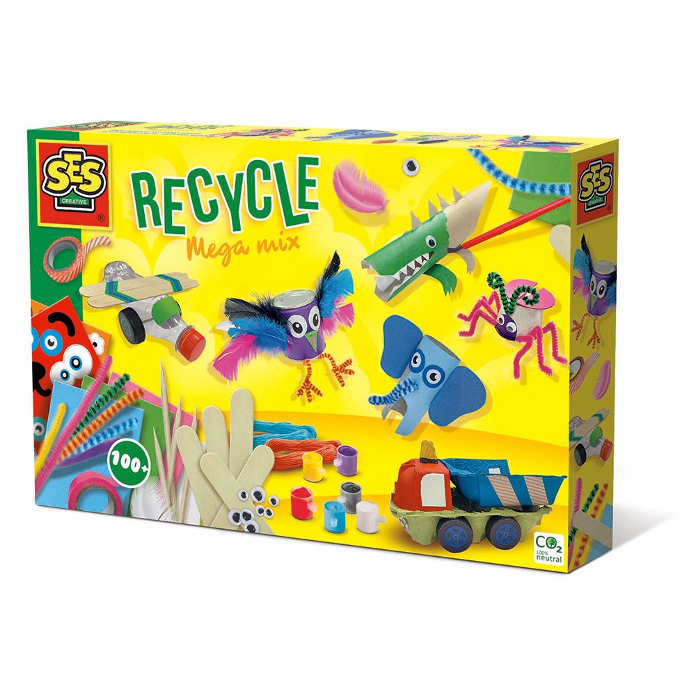 Ses Creative - Recycle mega mix - DIY