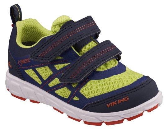Viking Veme Vel GTX Sneaker, Navy/Lime 21