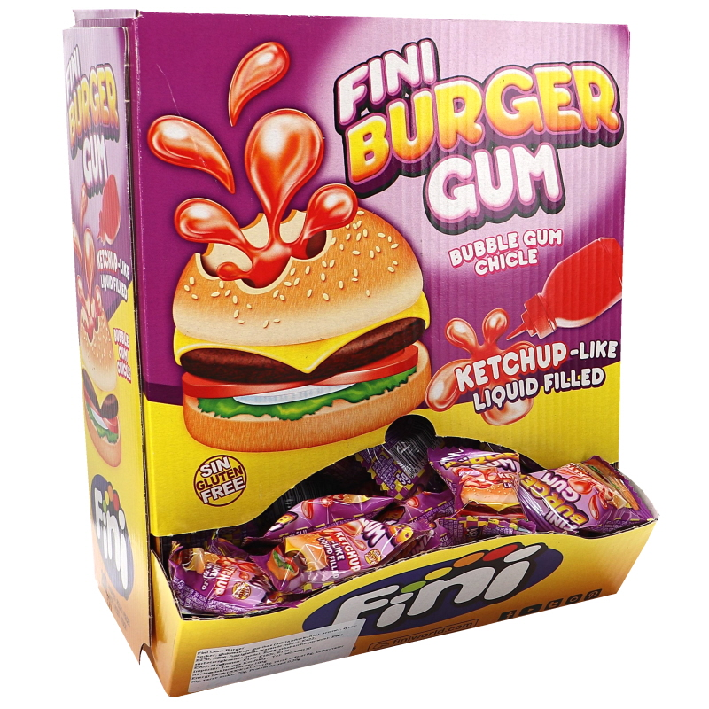 Tuggummi Burger 200-pack - 48% rabatt