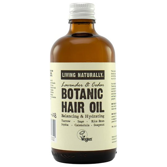 Living Naturally Botanic Hair Oil, 100 ml