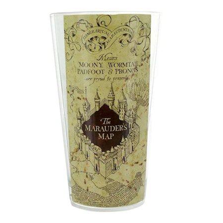 Harry Potter Glas Marauders Map